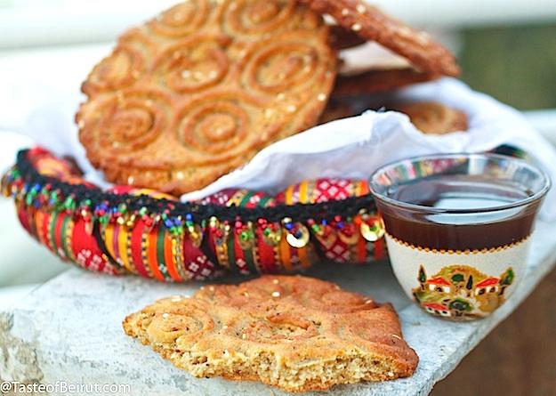 Abbas Cookies Kaak Al Abbas Keeprecipes Your