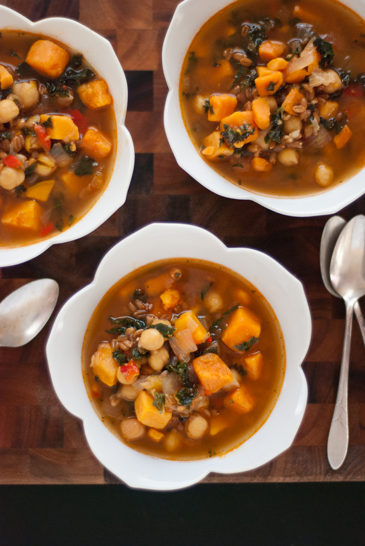 The Chic Chef: Slimmed-Down Potato Soup