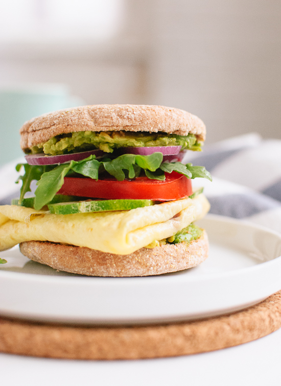 Avocado Egg And English Muffin Sandwich Keeprecipes Your