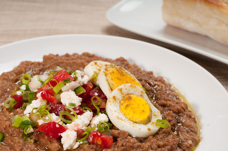 Ethiopian Ful Medames Fava Beans With Berbere And Tasty Garnishes Recipe Keeprecipes Your