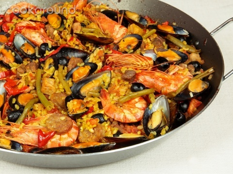 Paella Valenciana Keeprecipes Your Universal Recipe Box