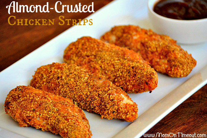 Heart healthy almond crusted chicken strips keeprecipes your heart healthy almond crusted chicken strips keeprecipes your universal recipe box forumfinder Choice Image