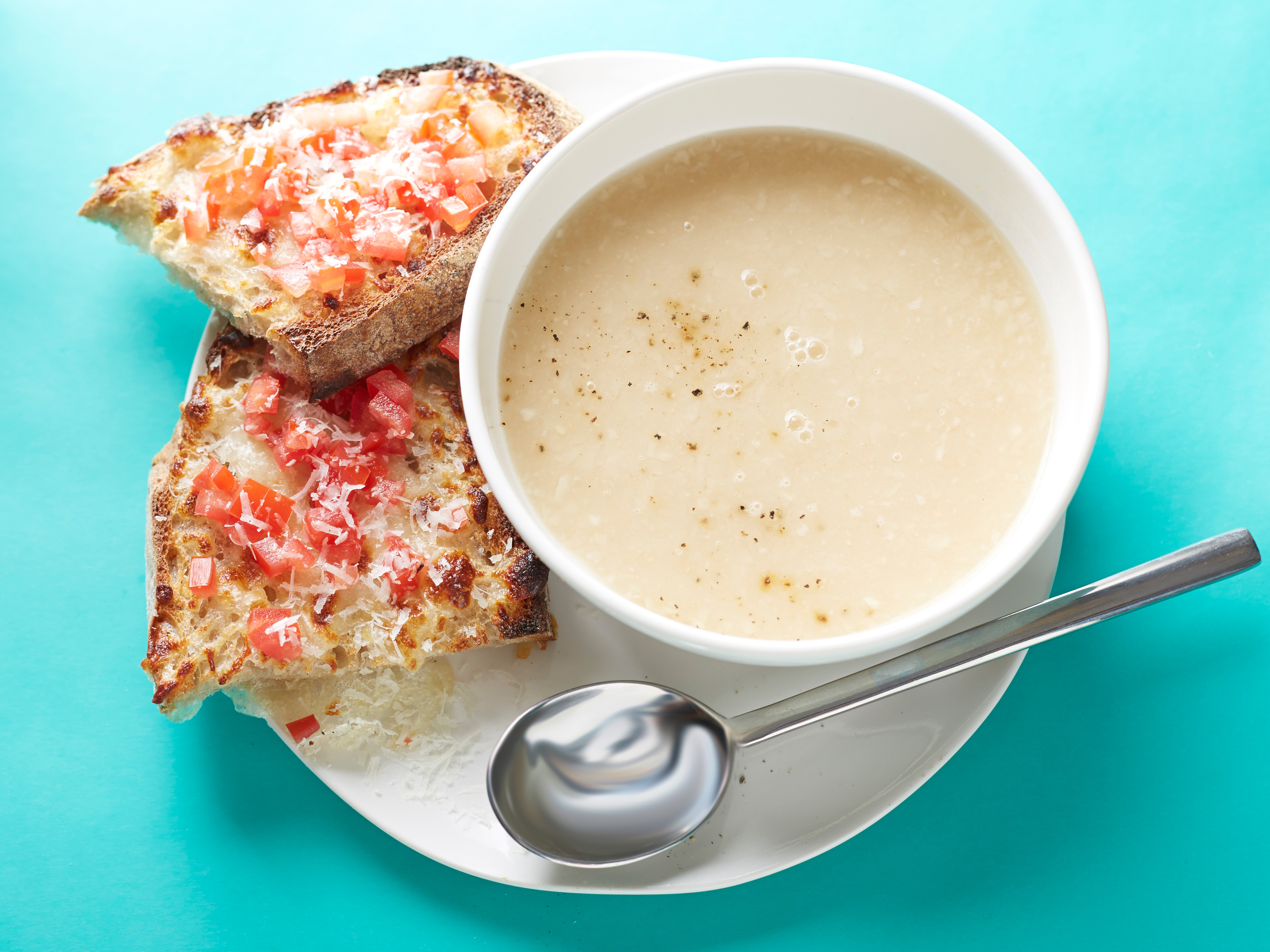 10 minute white bean soup with toasted cheese and tomato 10 minute white bean soup with toasted cheese and tomato keeprecipes your universal recipe box forumfinder Image collections