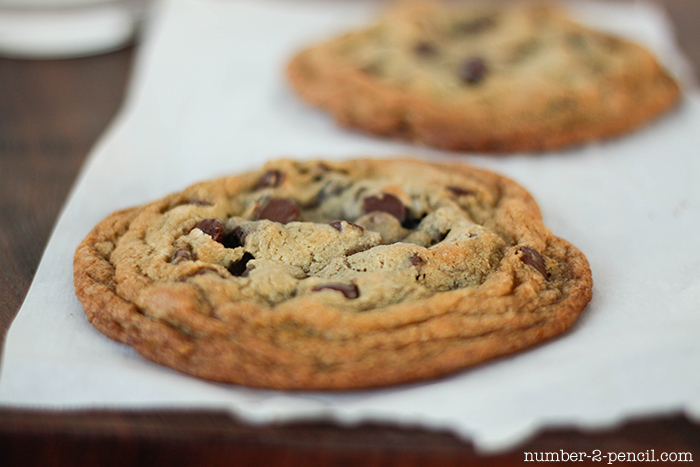 Chocolate Chip Cookie Tart Shell