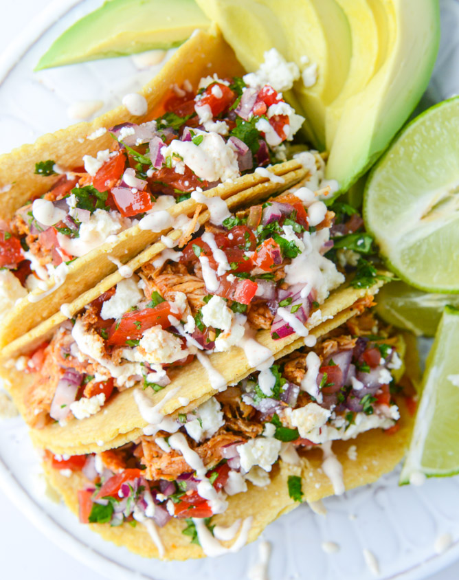 Easy weeknight chicken tacos keeprecipes your universal recipe box forumfinder Choice Image