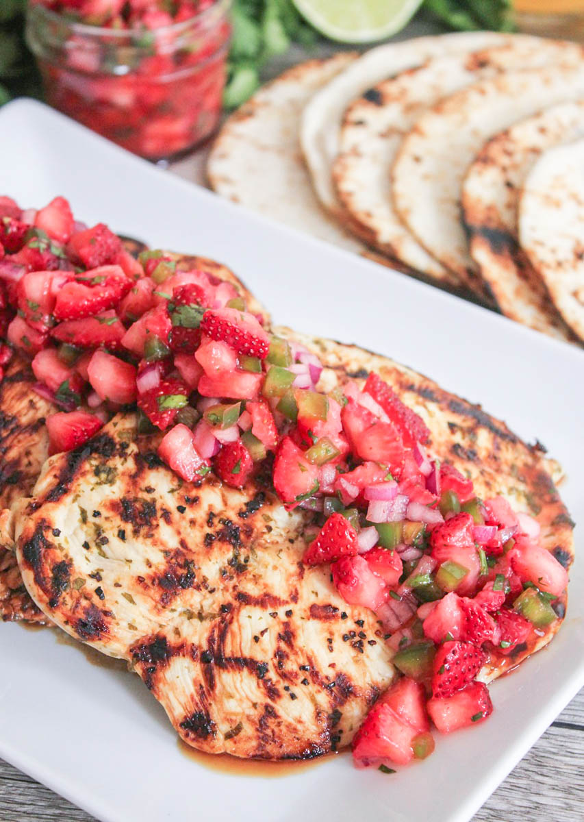 Grilled Butterflied Chicken Breasts With Cilantro-Lime ...