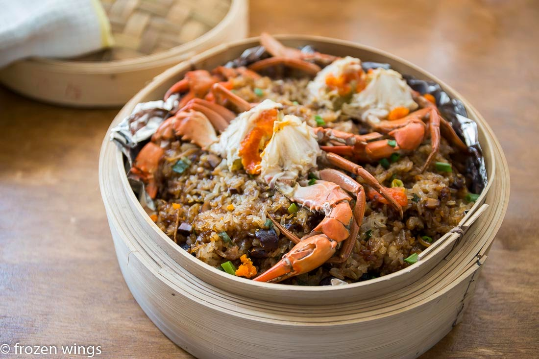 Steamed Glutinous Rice With Crab Keeprecipes Your