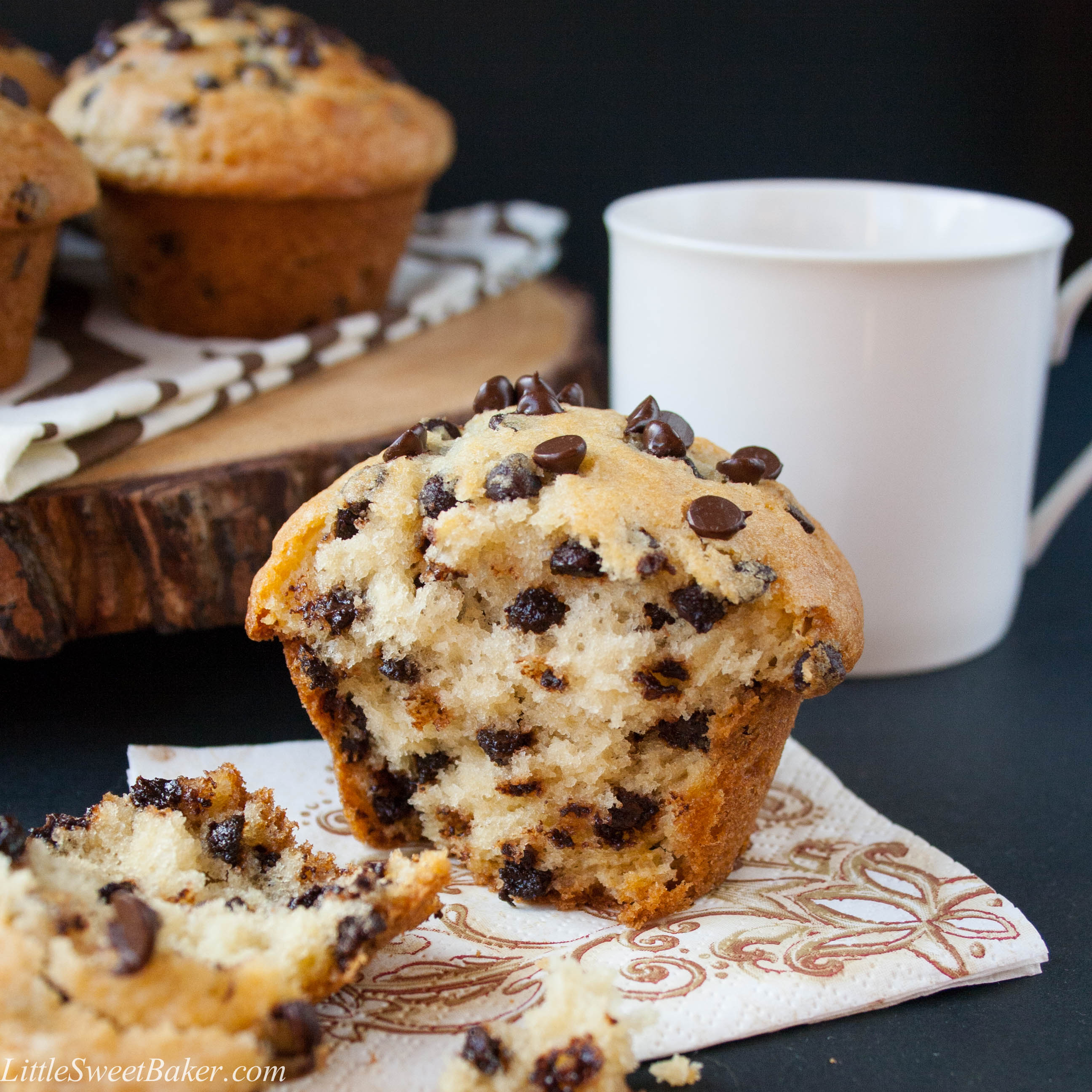 Chocolate Chip Muffin Cake Flour