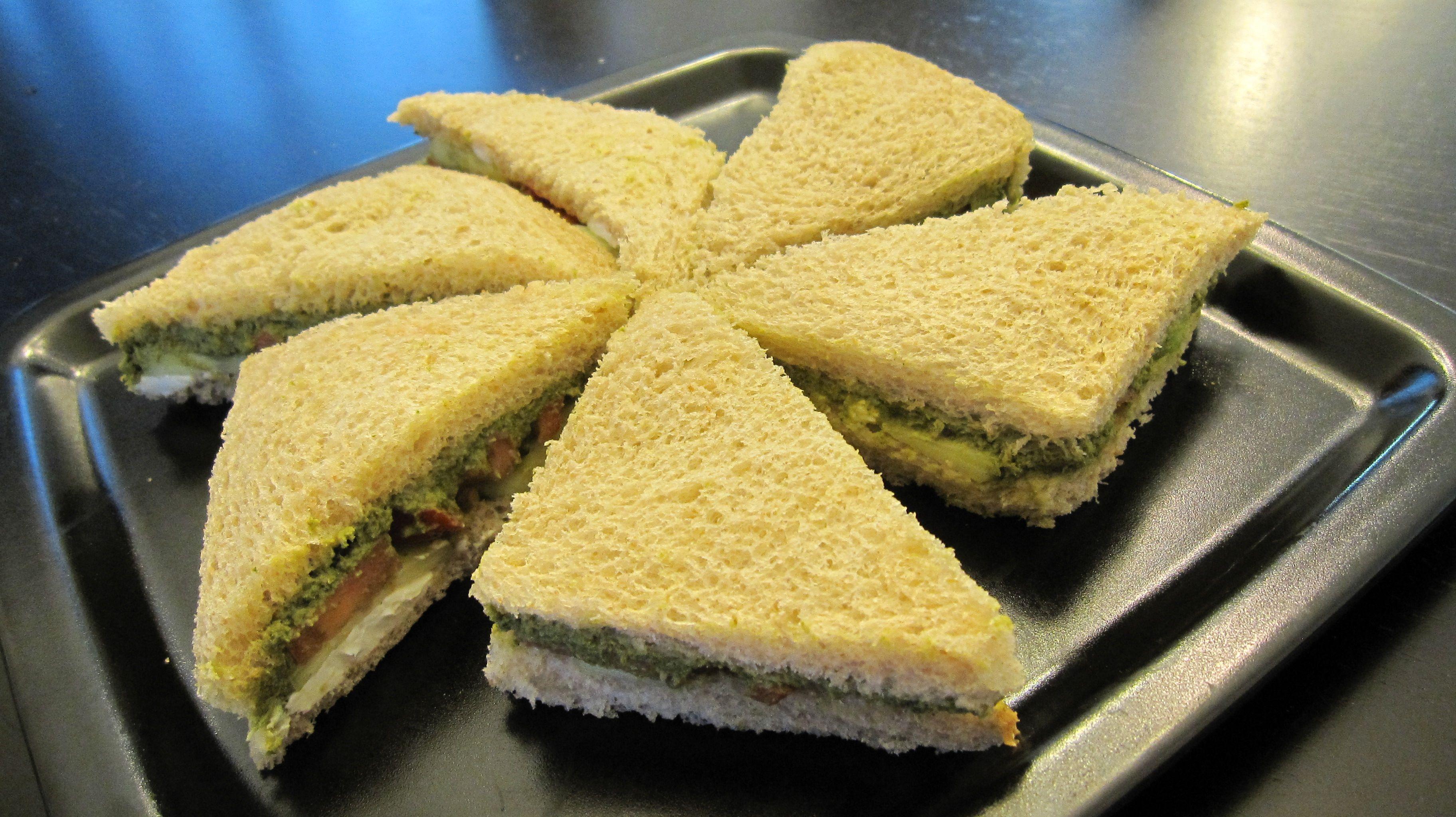 Cilantro chutney and spiced potato sandwich   KeepRecipes: Your ...