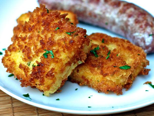 Food Network Polenta Cakes