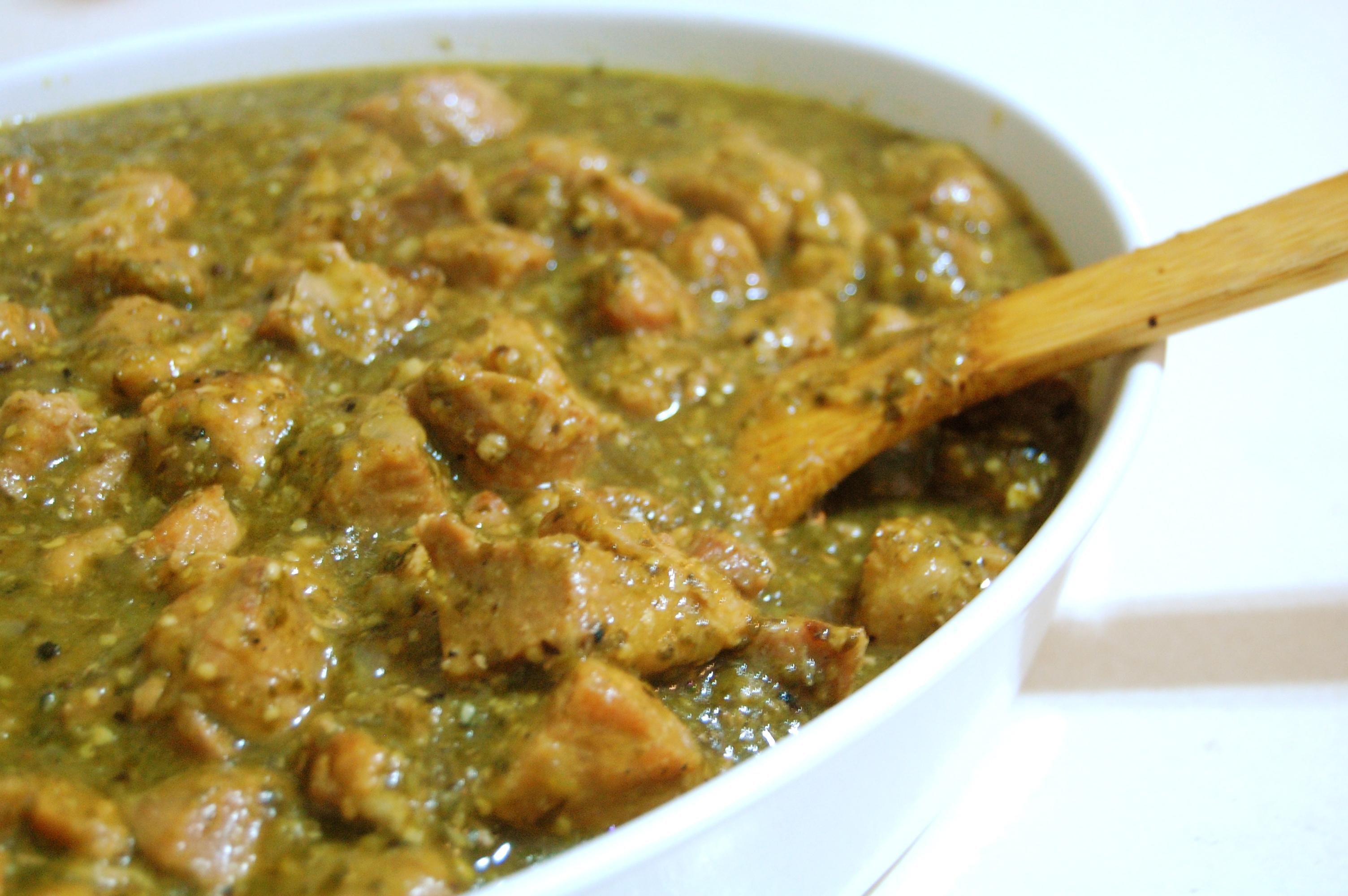 Recipe for chicken chili verde