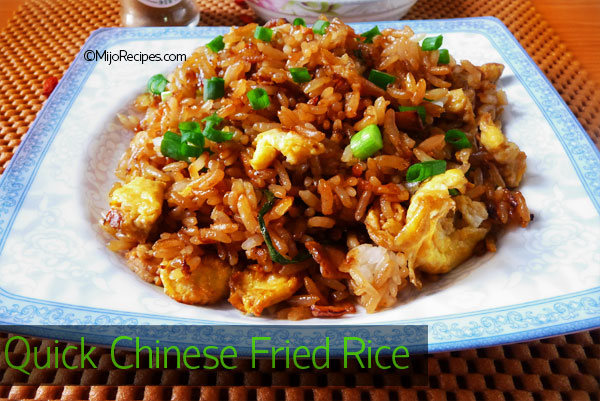 Quick chinese fried rice keeprecipes your universal recipe box ccuart Image collections