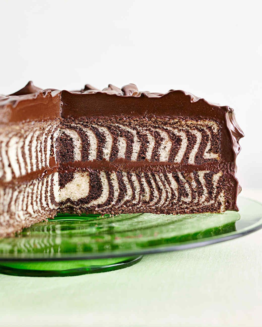 ChocolateandVanilla Zebra Cake KeepRecipes Your Universal