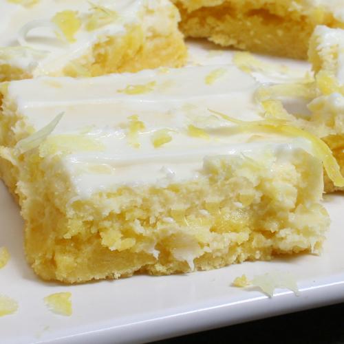 Lemon Squares Using Cake Mix