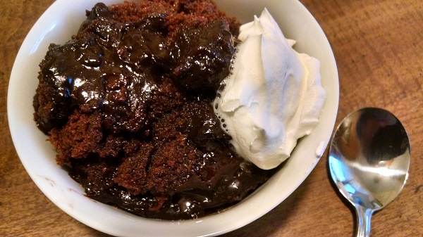 Slow Cooker Brownie Pu...