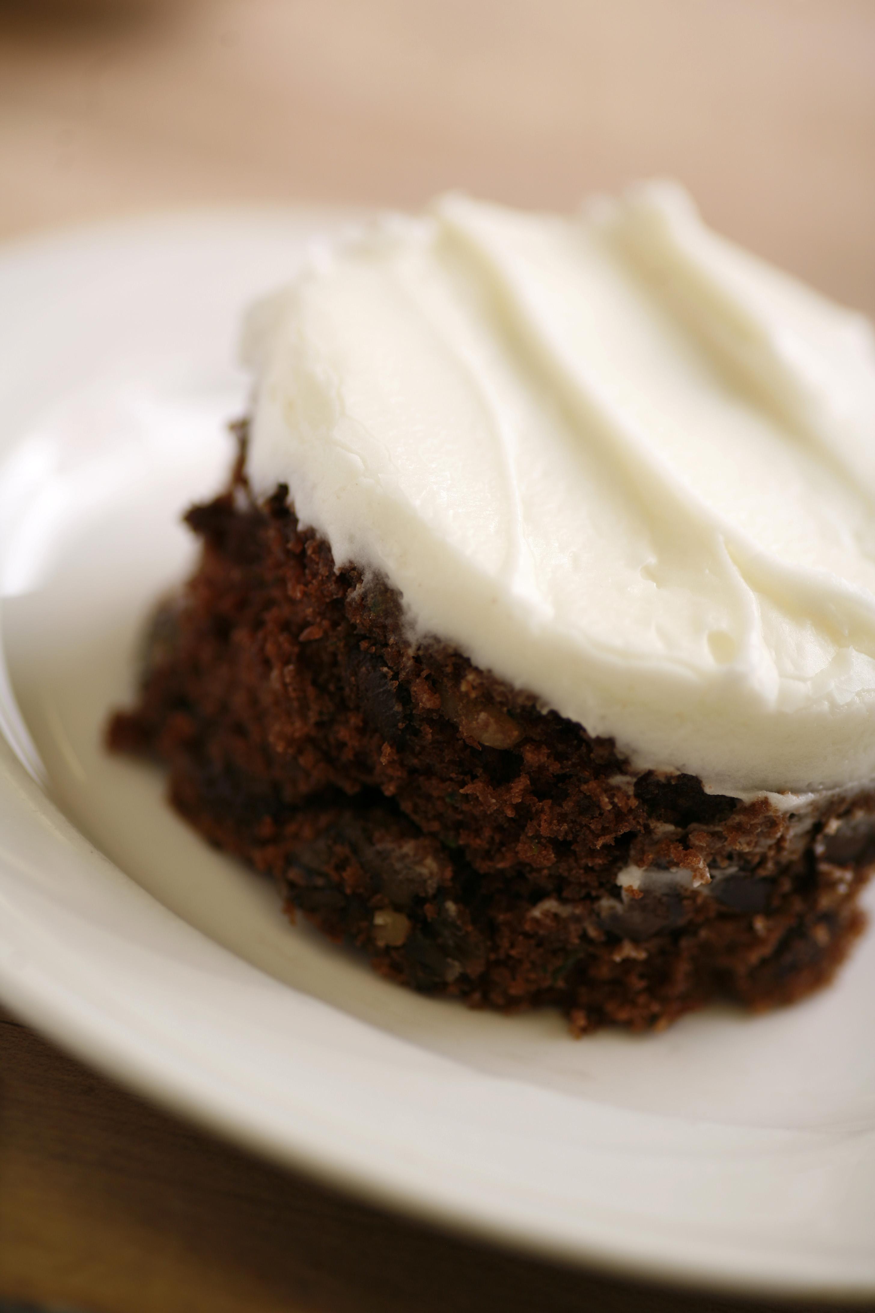 Chocolate Zucchini Cake Recipes Sour Cream