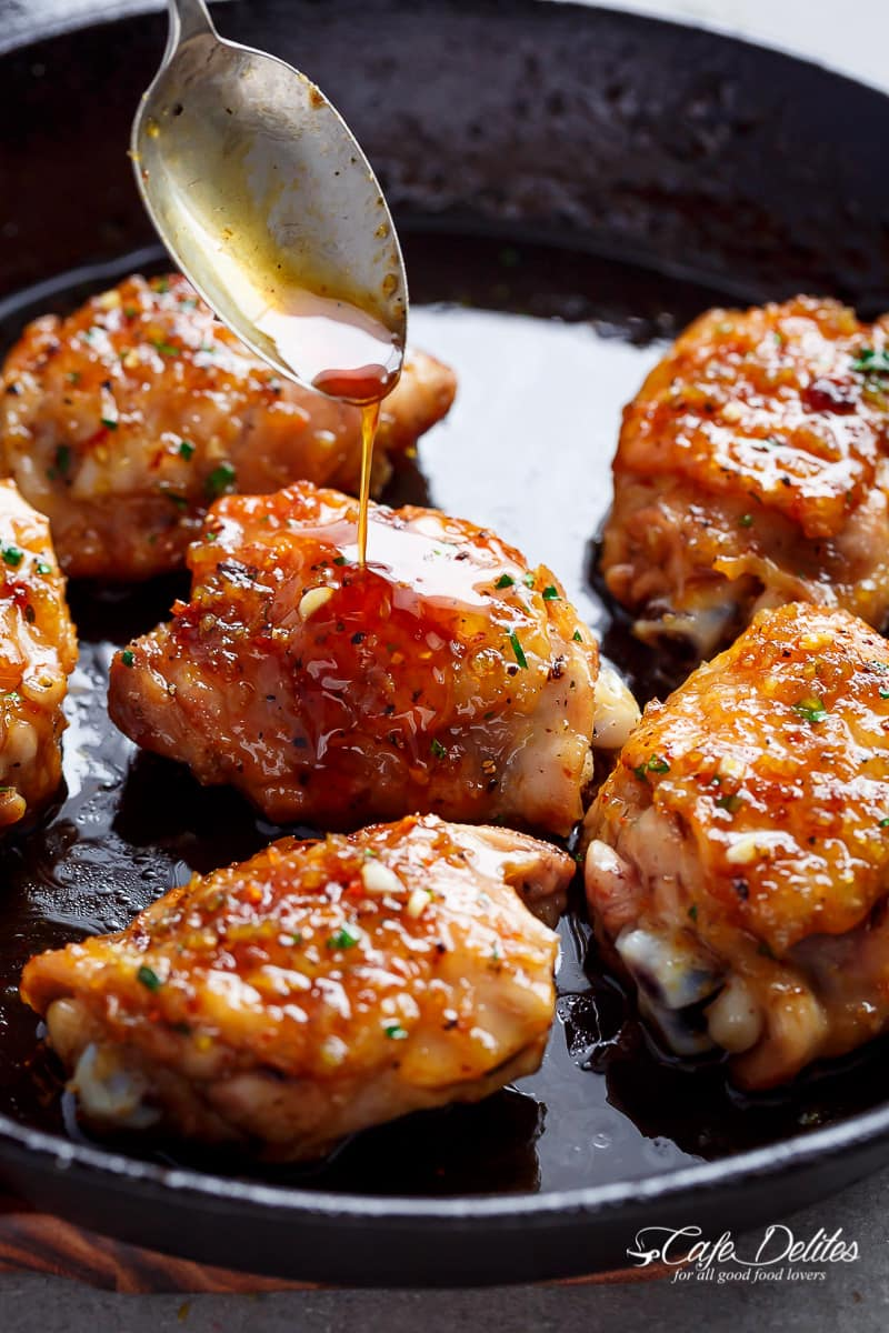 Easy Honey Garlic Chicken Keeprecipes Your Universal