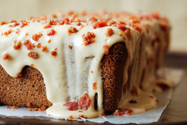 Espresso Pound Cake With Maple Bacon Icing Keeprecipes Your Universal Recipe Box