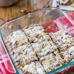 Gooey Cookies and Cream Double Chocolate Cake Bars ...