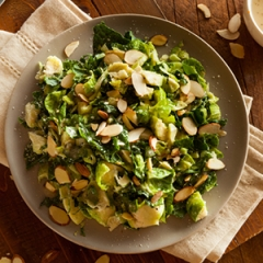 Emeril S Brussels Sprout And Cheddar Cheese Bake Recipe