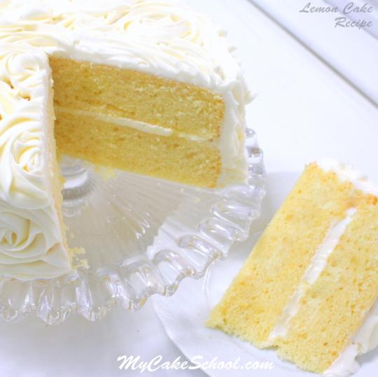 Best Lemon Cake Recipe From A Box