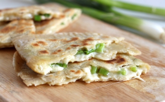 Cheese and onion stuffed flatbreads | KeepRecipes: Your Universal ...