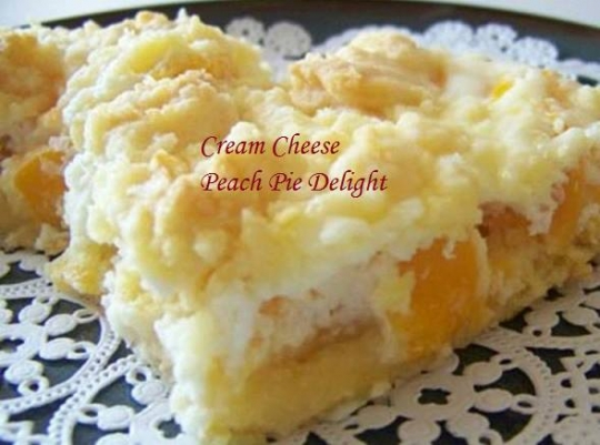 Peach Delight Recipe Cake Mix