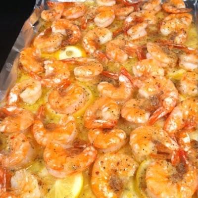 Lemon Butter Baked Shrimp Recipe Keeprecipes Your Universal Recipe Box