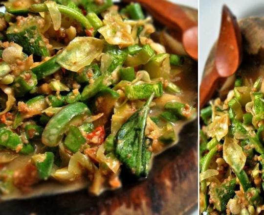 Karedok Kacang Panjang Keeprecipes Your Universal Recipe Box
