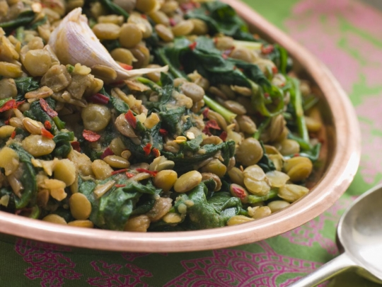 Spiced Spinach Dal with Coconut Milk | KeepRecipes: Your Universal ...