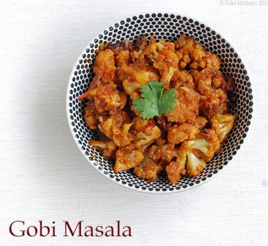 GOBI MASALA RESTAURANT STYLE RECIPE ~ Rak\'s Kitchen | KeepRecipes ...