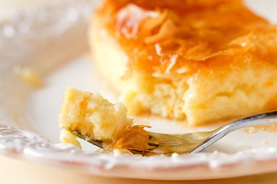 Greek Semolina Custard Cake