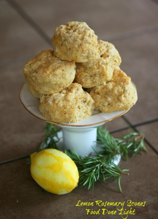 Lemon Rosemary Scones | KeepRecipes: Your Universal Recipe Box