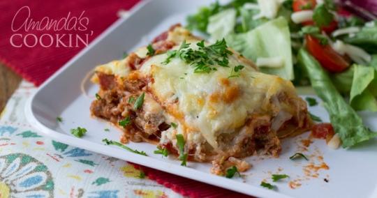 Creamette Back Of The Box Recipe For Italian Lasagna