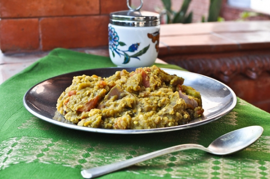 Vegan Indian Eggplant With Lentils Keeprecipes Your