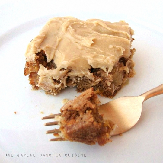 Apple Cake With Penuche Frosting