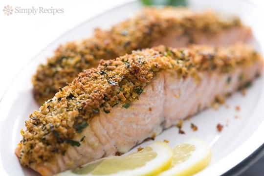 Panko-Crusted Baked Salmon Recipe | KeepRecipes: Your Universal Recipe ...