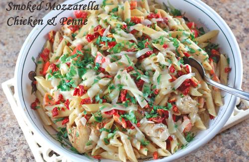 Olive Garden Smoked Mozzarella Chicken And Penne Pasta