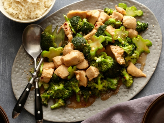 Chicken and broccoli stir fry keeprecipes your universal recipe box see original recipe at foodnetwork forumfinder Image collections
