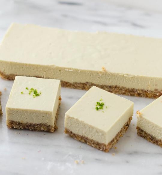 Vegan Key Lime Pie Bars | KeepRecipes: Your Universal Recipe Box
