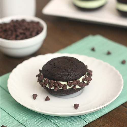 Mint Chocolate Chip Whoopie Pies | KeepRecipes: Your Universal Recipe ...