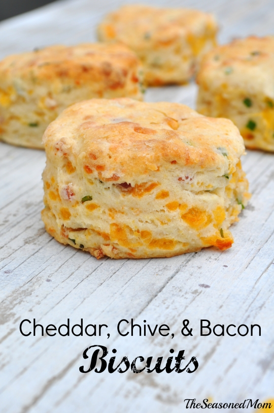 Cheddar Chive and Bacon Biscuits | KeepRecipes: Your ...