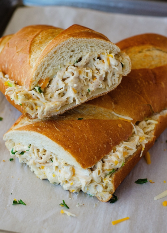 Chicken Stuffed French Bread | KeepRecipes: Your Universal ...