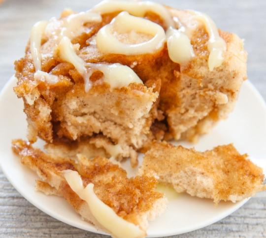 cinnamon roll mug cake keeprecipes your universal recipe box