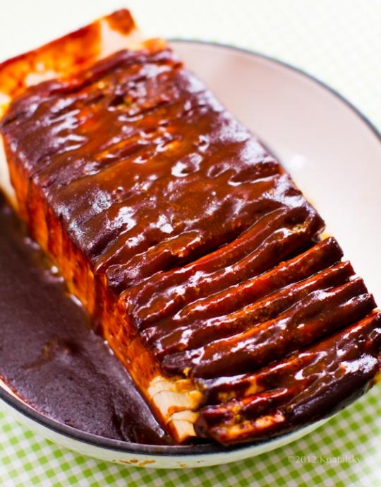 BBQ Hasselback Tofu | KeepRecipes: Your Universal Recipe Box