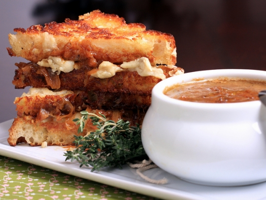 French Onion Soup Sandwich | KeepRecipes: Your Universal Recipe Box