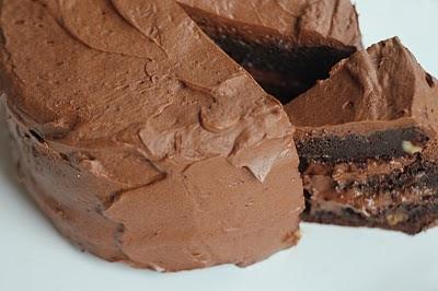 Terrific Extreme Chocolate Birthday Cake Keeprecipes Your Universal Personalised Birthday Cards Petedlily Jamesorg