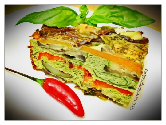 Pesto Chilli Vegetable Stack Keeprecipes Your Universal