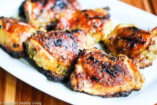 Grilled thai curry cilantro garlic chicken recipe keeprecipes grilled thai curry cilantro garlic chicken recipe see original recipe at jeanetteshealthyliving forumfinder Choice Image