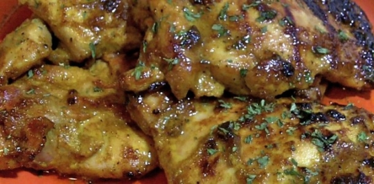 Honey Curry Chicken Thighs Keeprecipes Your Universal Recipe Box